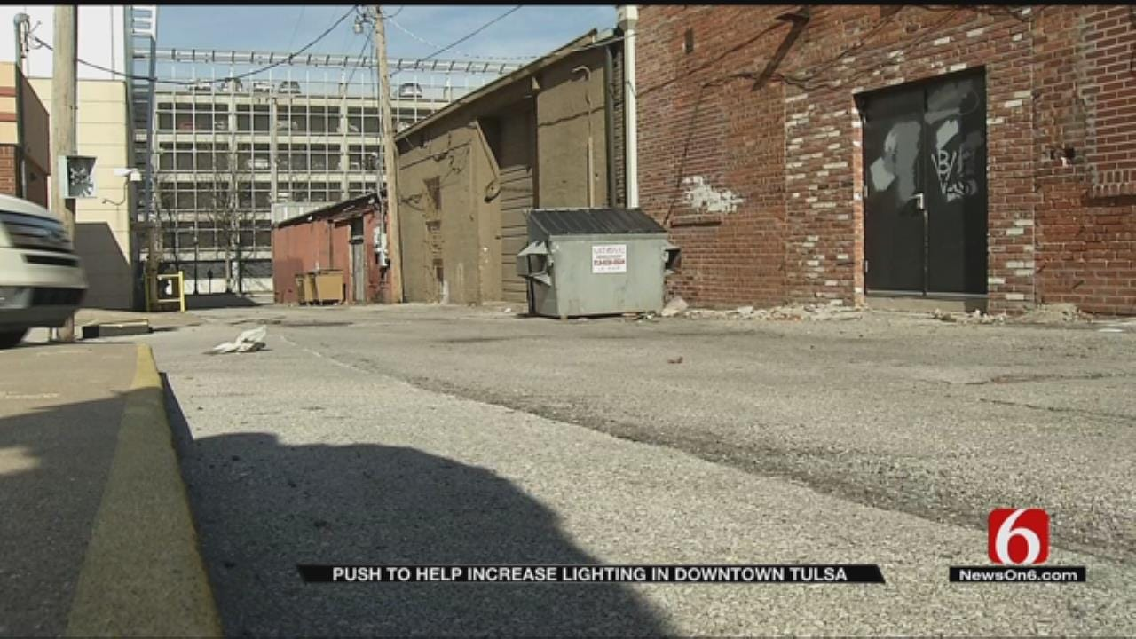 Tulsa Young Professionals Looking To Re-Imagine Unused Alleyway