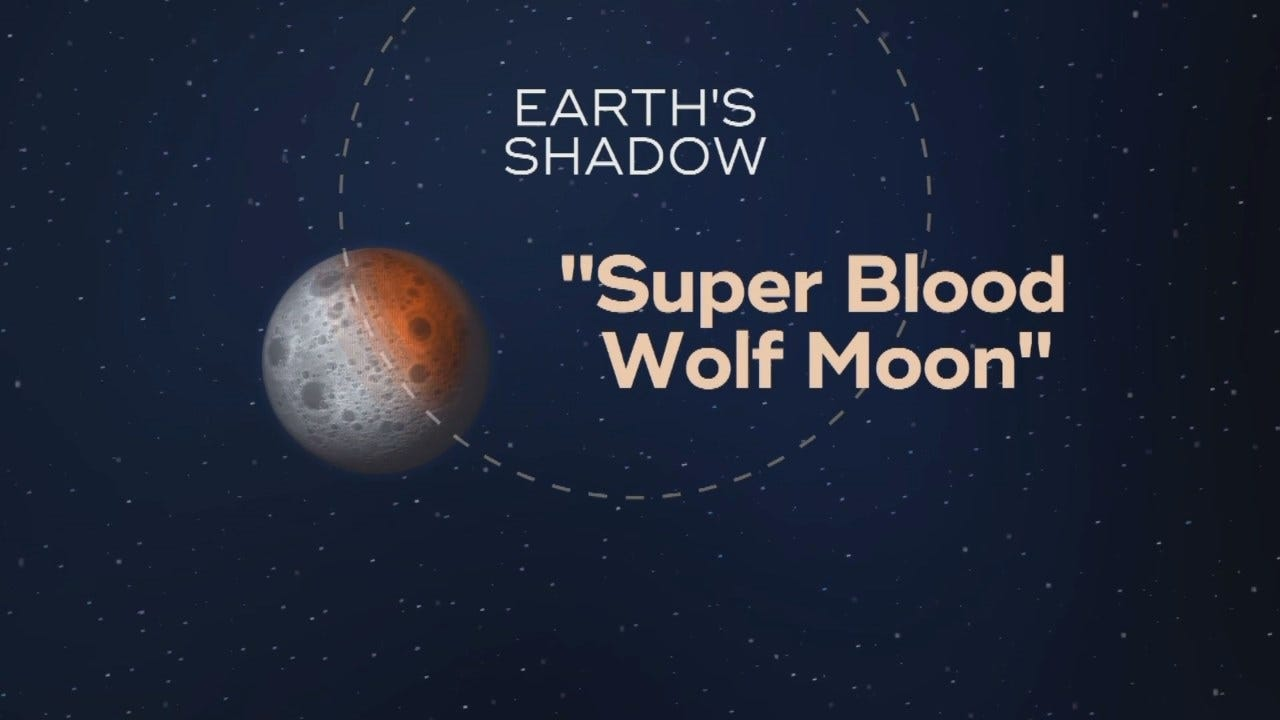 Sunday's Total Lunar Eclipse Came With Supermoon Bonus