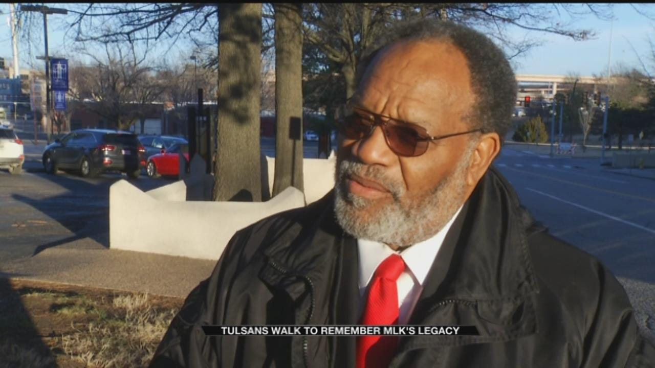 People Gather to Honor Dr. Martin Luther King Jr.'s Legacy