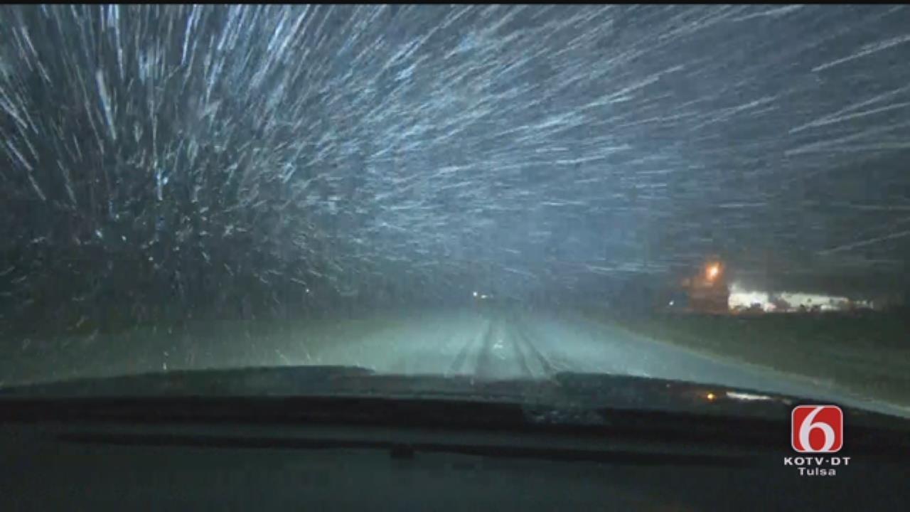 Snowfall East Of Eufaula From News On 6 Storm Tracker Von Castor