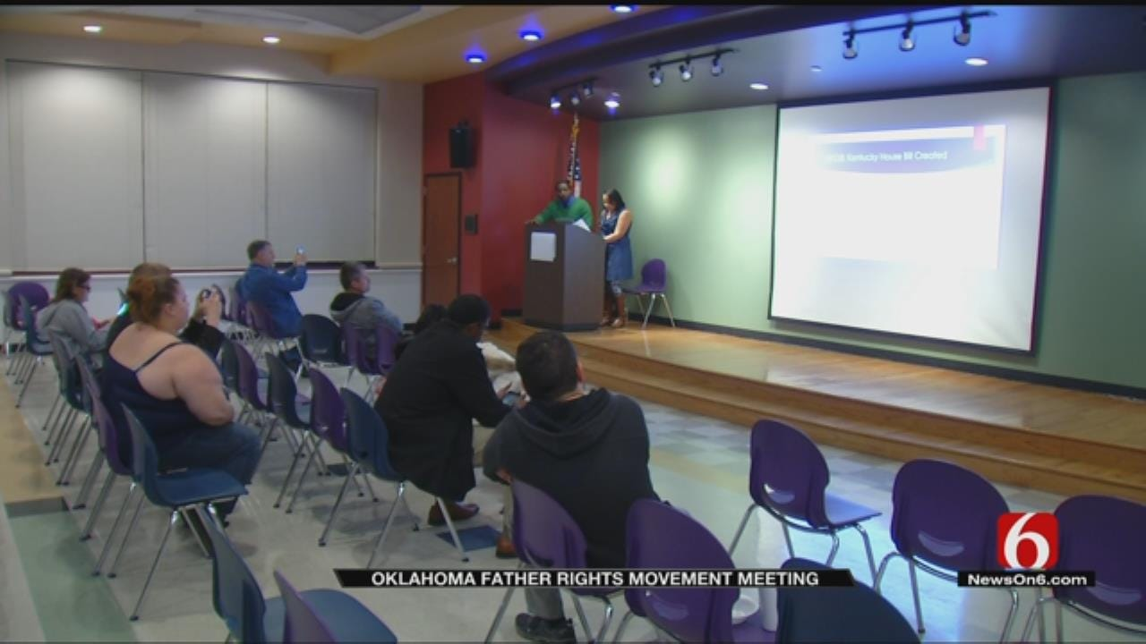 Oklahoma Fathers' Rights Movement Holds First Meeting