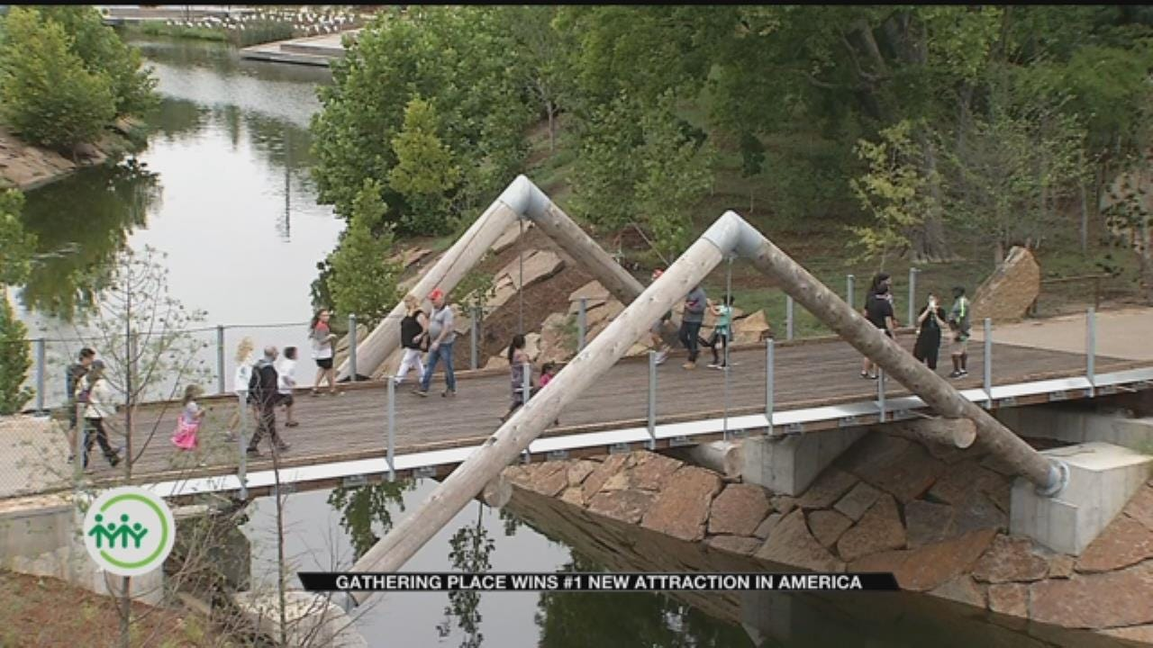 Gathering Place Named Best New Attraction In Nation