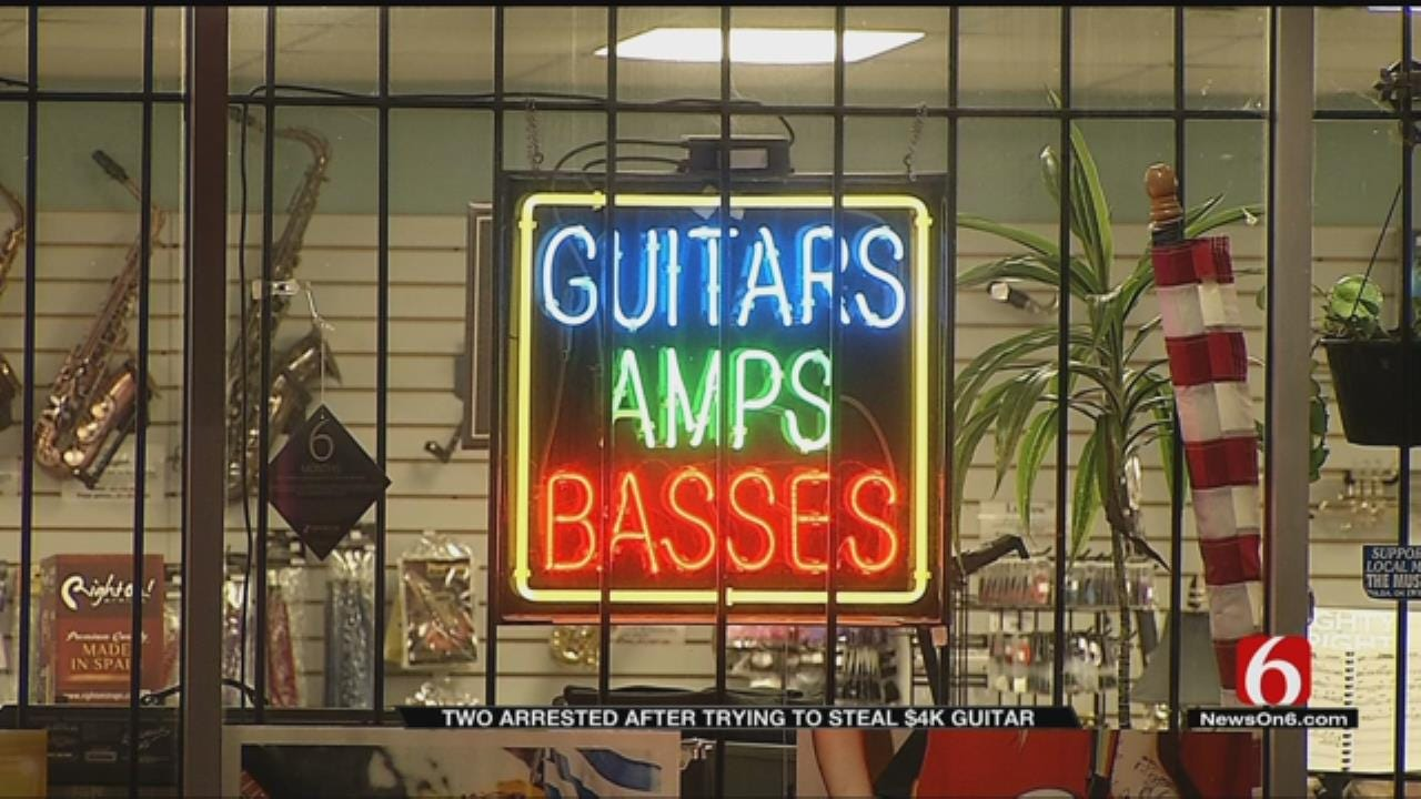 Pair Arrested After Stealing $4,000 Guitar