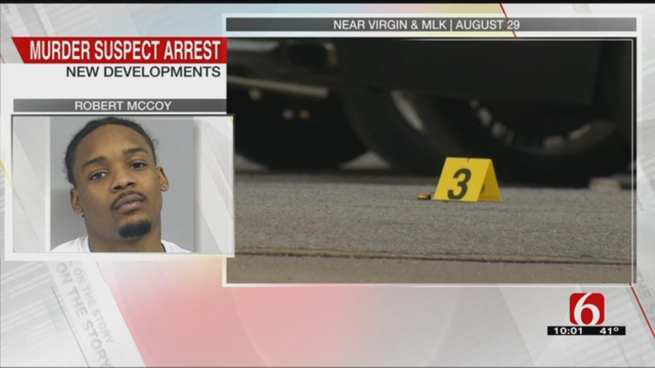 Man Arrested For August 2018 Tulsa Shooting Death