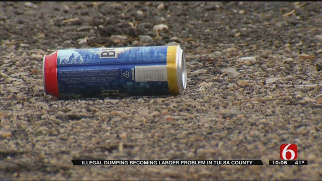 Sperry Woman Tired Of Illegal Dumping Problem