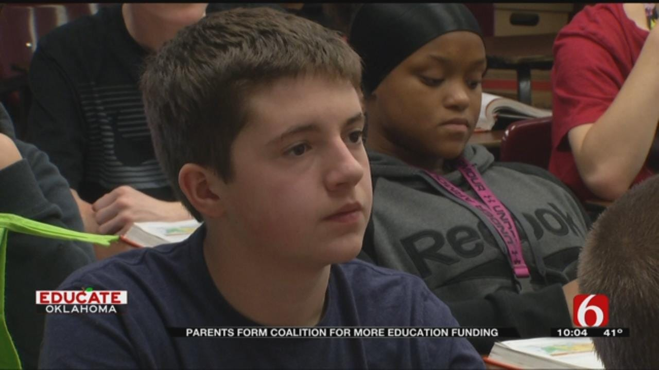 Oklahoma Parents Join Together To Advocate For Kids' Education