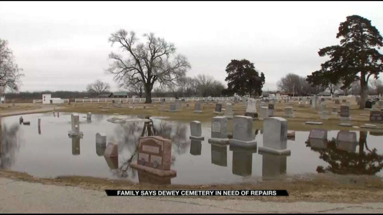 Family Upset By Condition Of Dewey Cemetery
