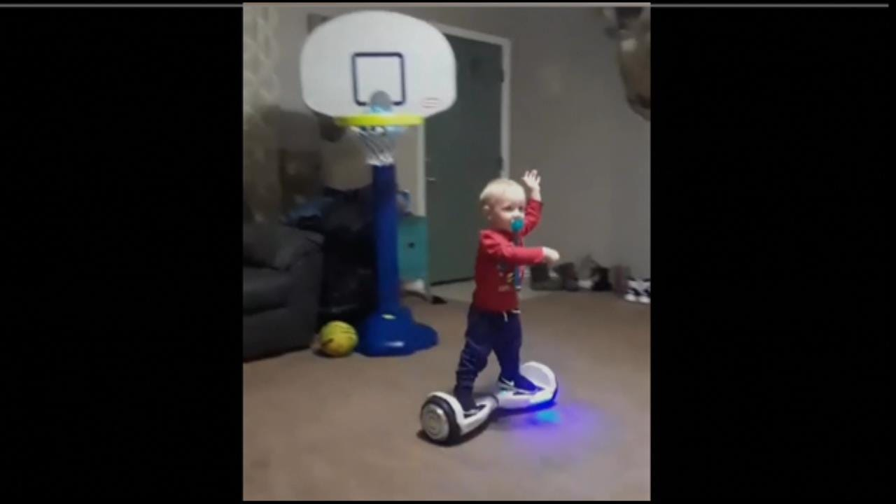 Oklahoma Toddler Rides Hoverboard Like A Boss