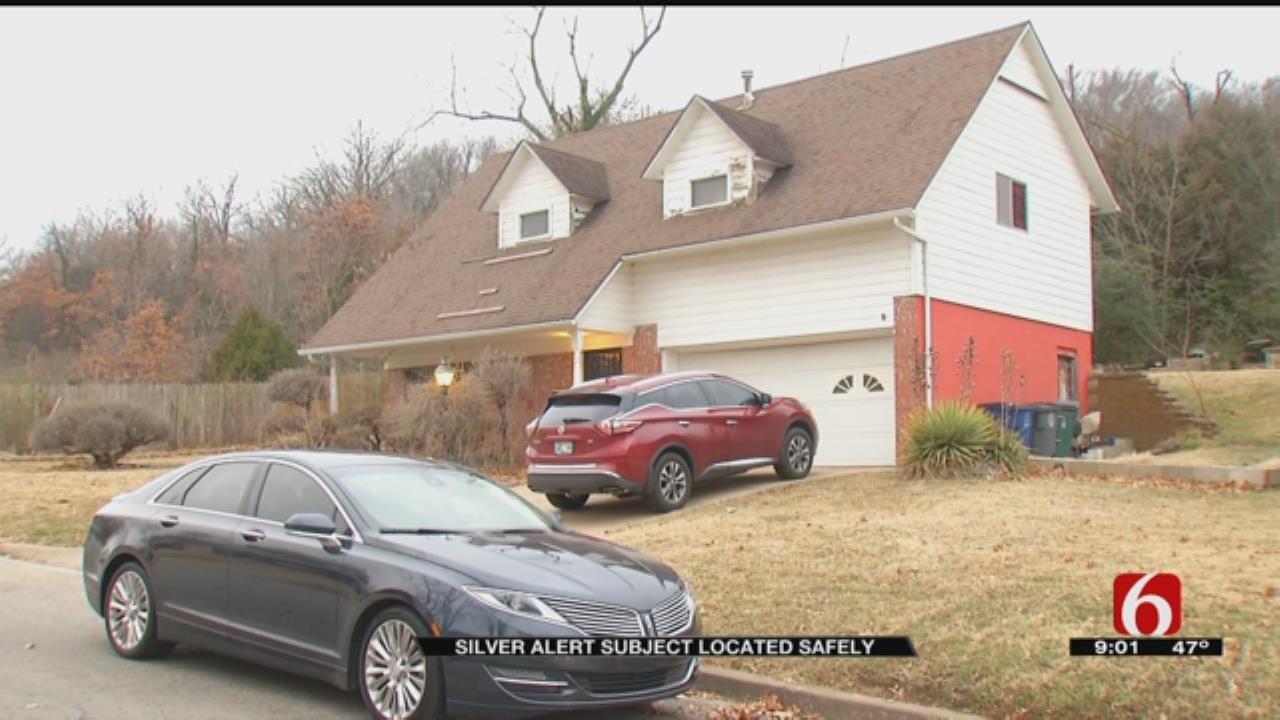 Silver Alert Canceled After Police Find Missing Tulsa Man