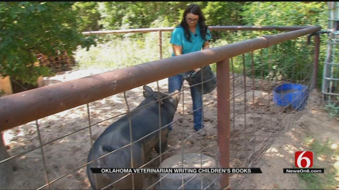 Oklahoma Veterinarian Releases New Children's Book