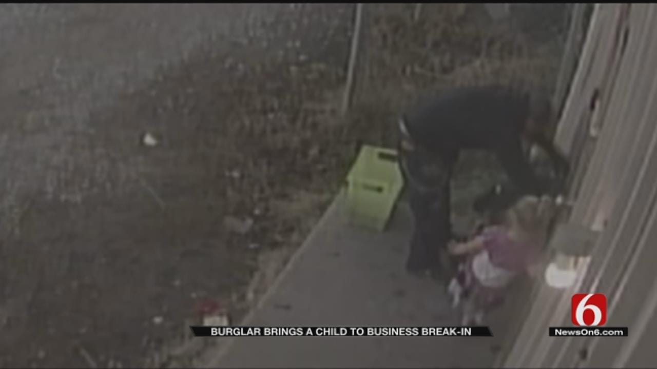 Tulsa Burglary Suspect Brings Child With Him To Commit Crime