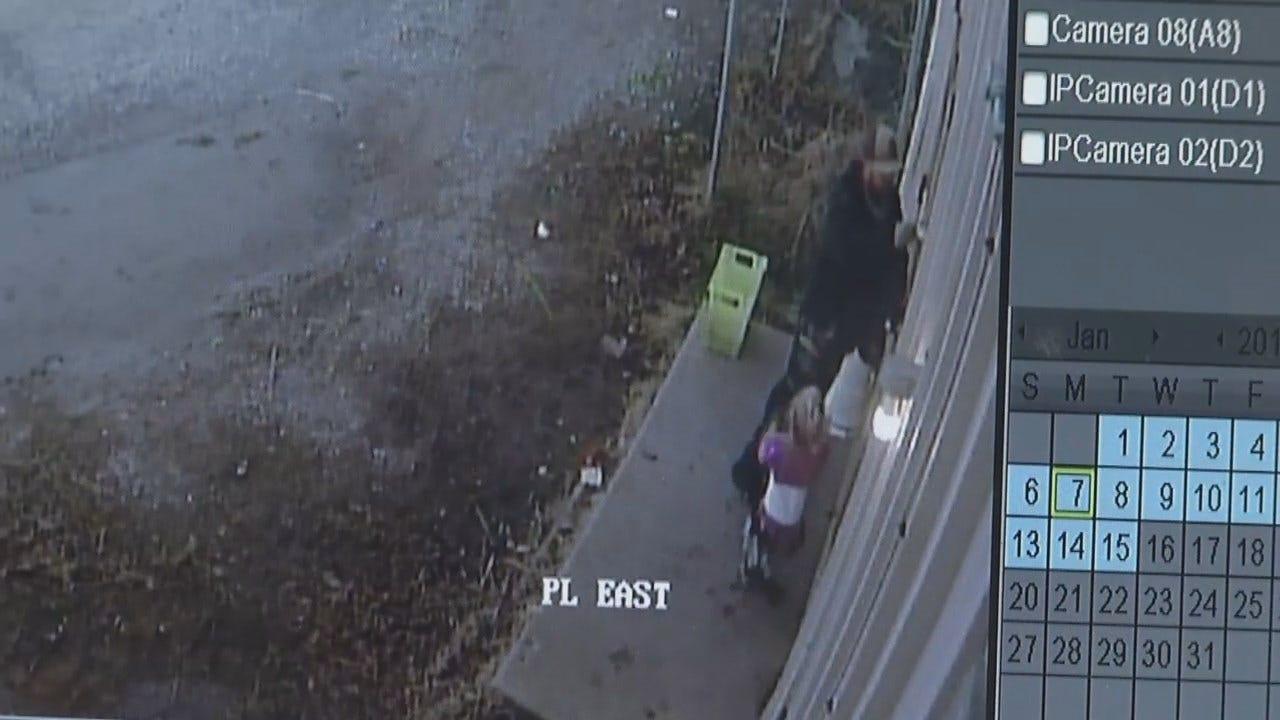 Tulsa Burglary Suspect Brings Child With Him