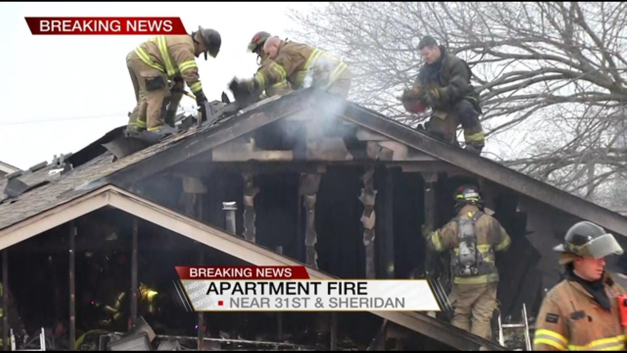 Squatters May Be To Blame For Tulsa Apartment Fire