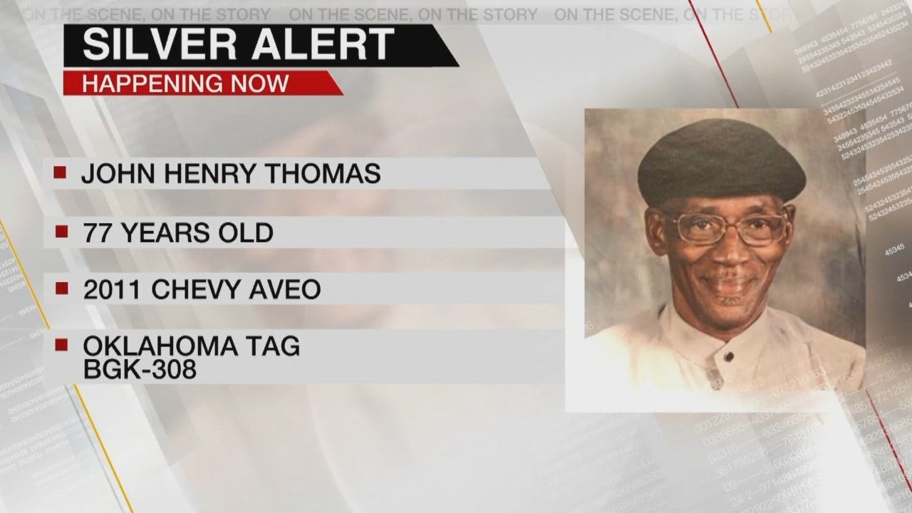 Silver Alert Issued For Missing Tulsa Man
