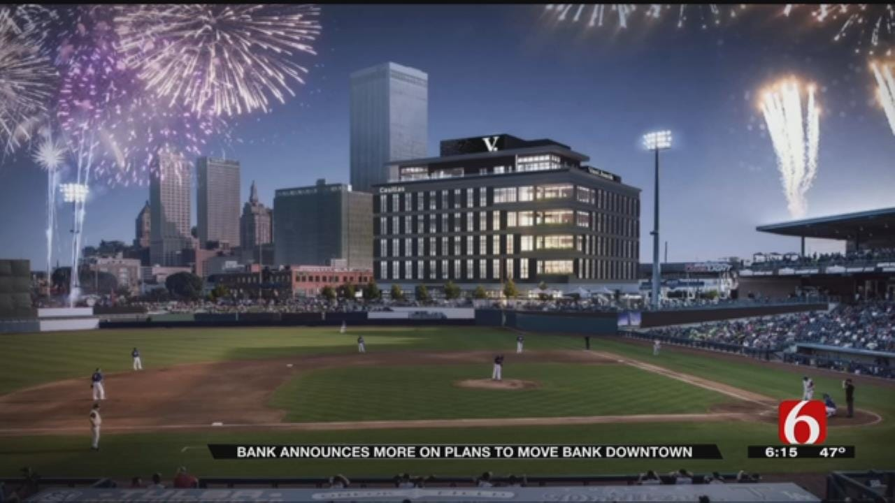 New Corporate Headquarters For VAST Bank Changing Tulsa Skyline