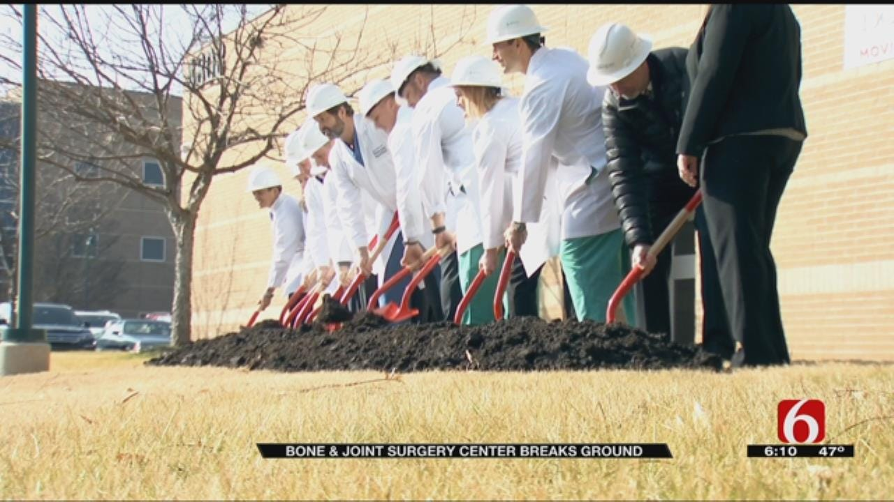 Tulsa Bone And Joint Breaks Ground On New Surgery Center
