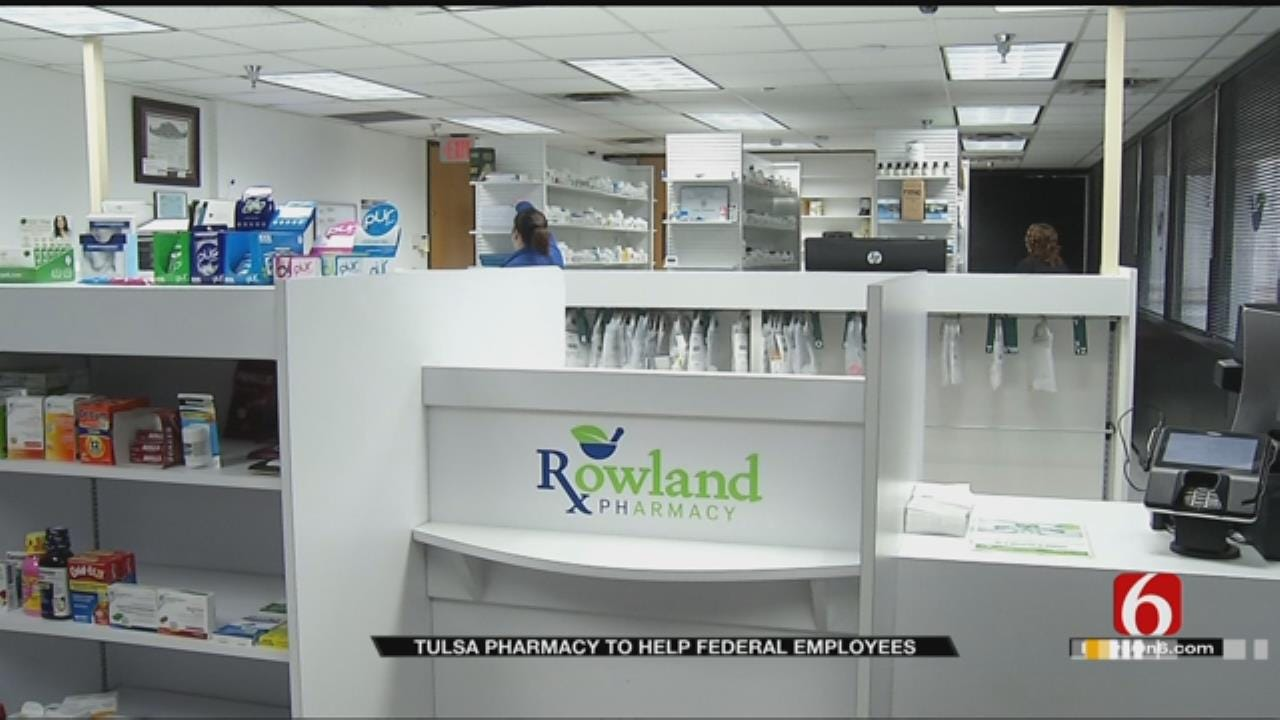 Oklahoma Pharmacy Helps Out Federal Employees Affected By Shutdown