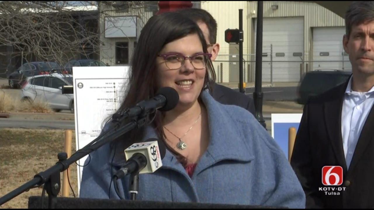 Tulsa City Council Kara Joy McKee Describes Rapid Transit System