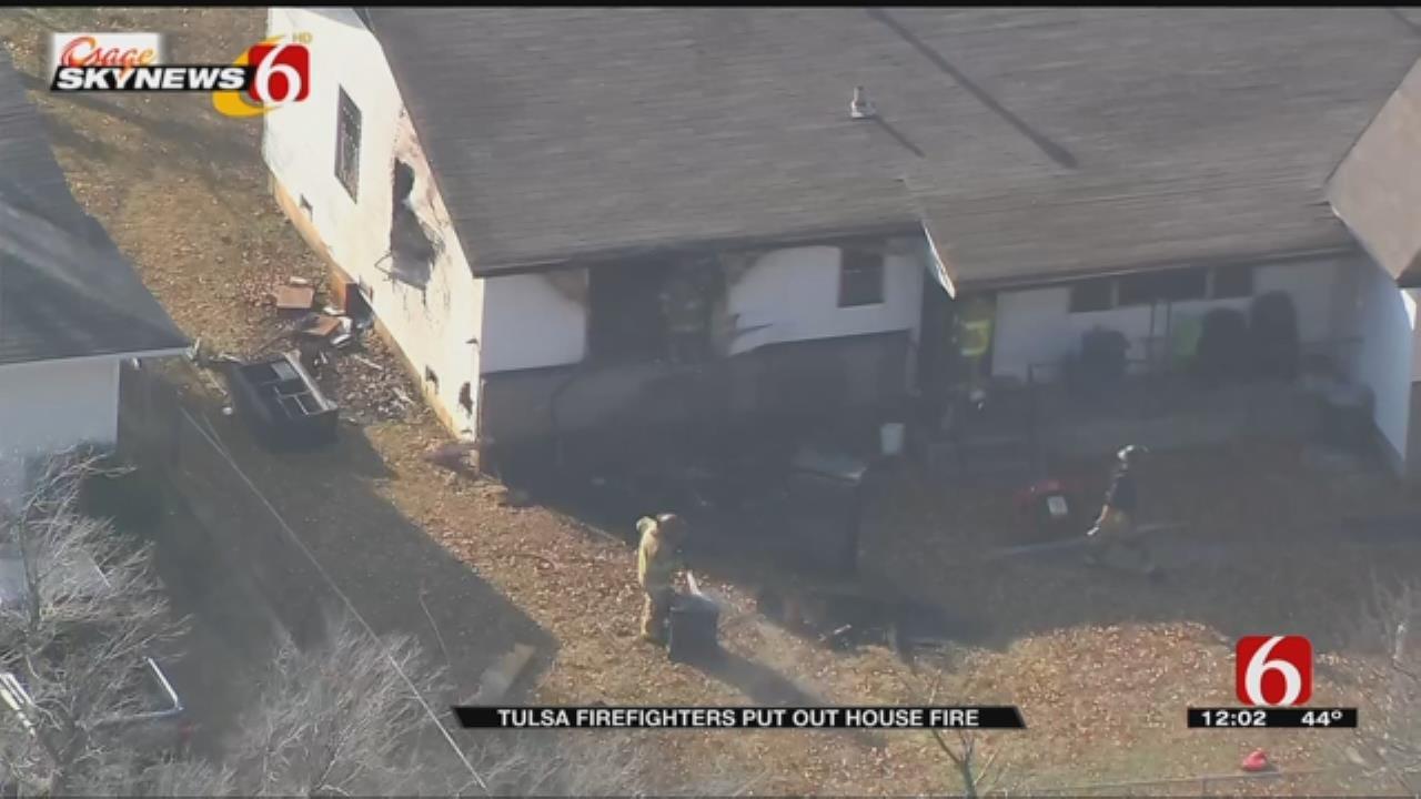 Fire Damages Tulsa House, Kills Pet Cat