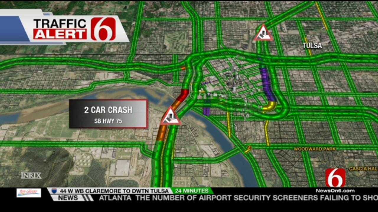 Slick Streets, Bridges Keep Tulsa Police Busy Early Tuesday