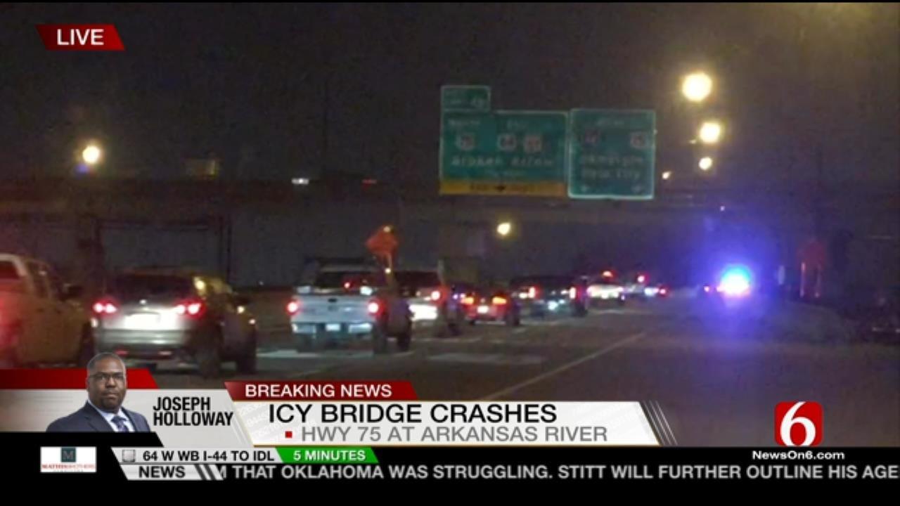 Joseph Holloway Reports On Tulsa Road Conditions