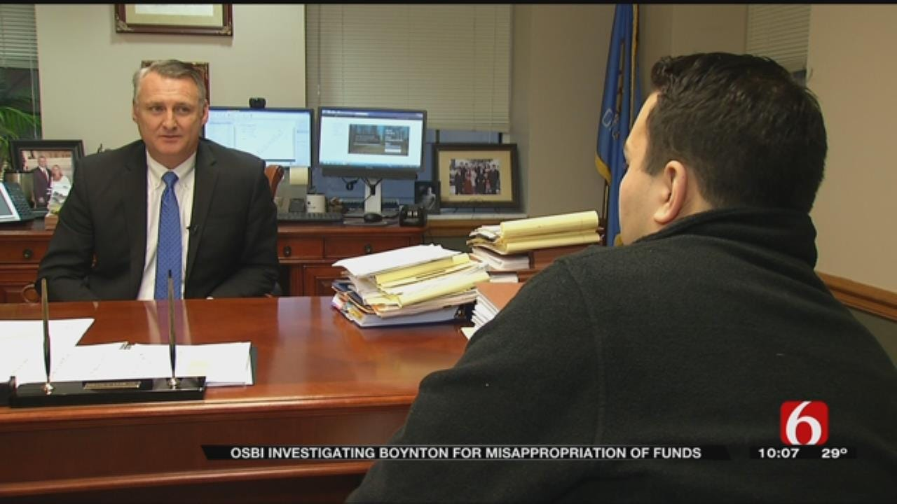 OSBI Investigating Town Of Boynton For Embezzlement And Fraud