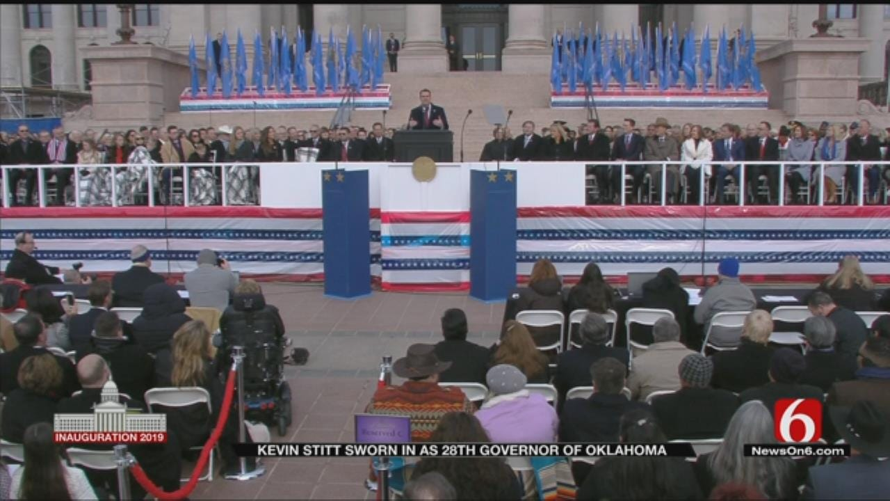 """Governor Stitt Sees """"Untapped Potential"""" In Oklahoma"""
