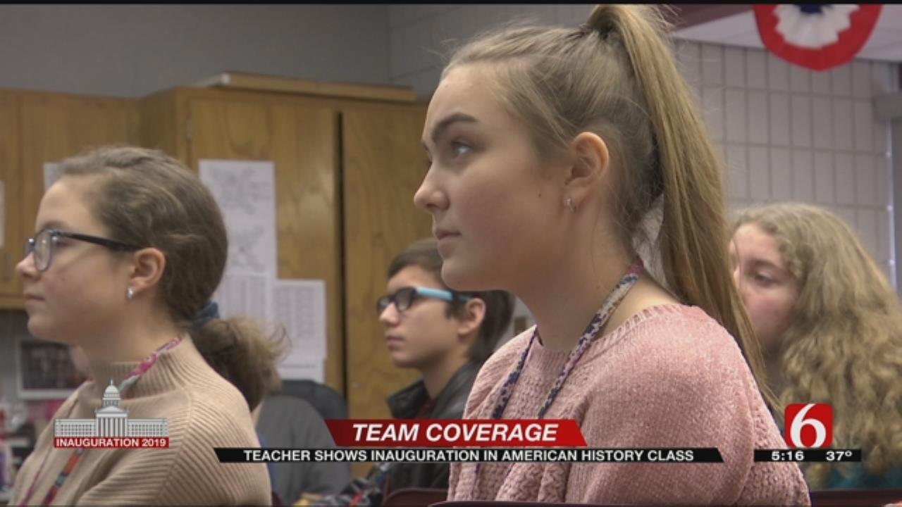 Jenks Students React To Inauguration
