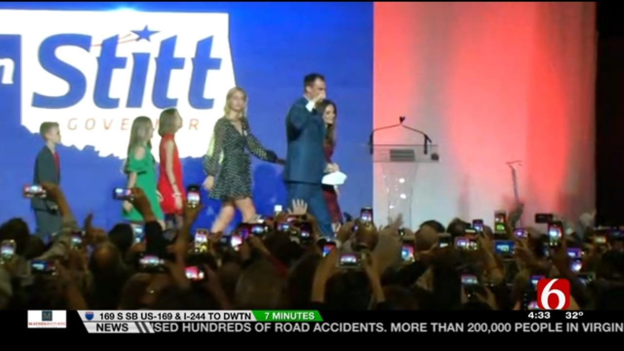 Kevin Stitt Set To Become Oklahoma's 28th Governor