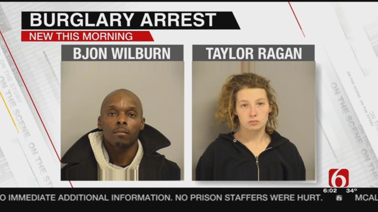 Police Arrest 2 Suspects For Tulsa Home Burglary