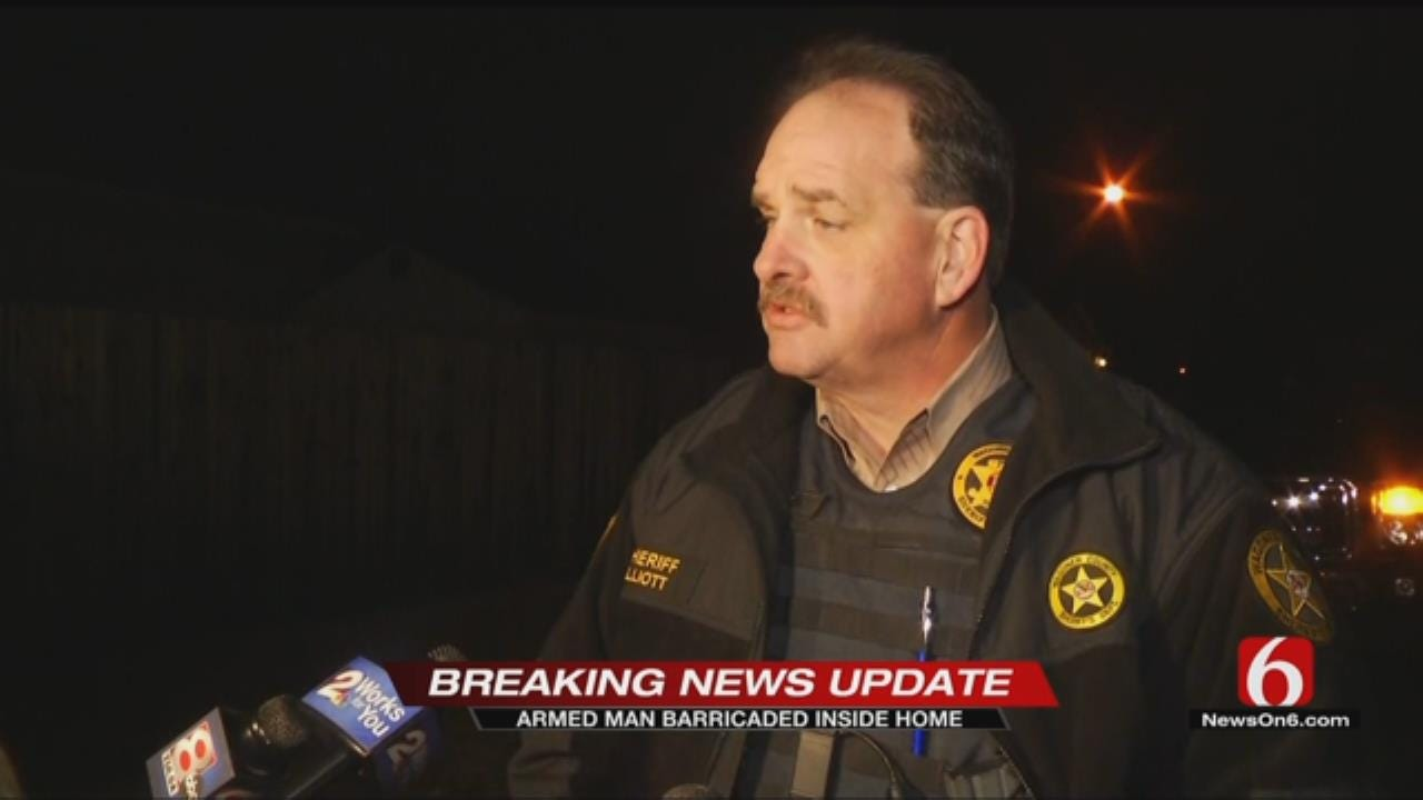 Wagoner County Standoff Ends Peacefully