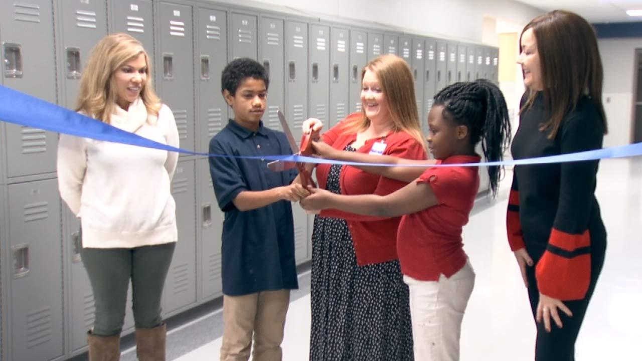 Tulsa Elementary Celebrates New Safe Rooms