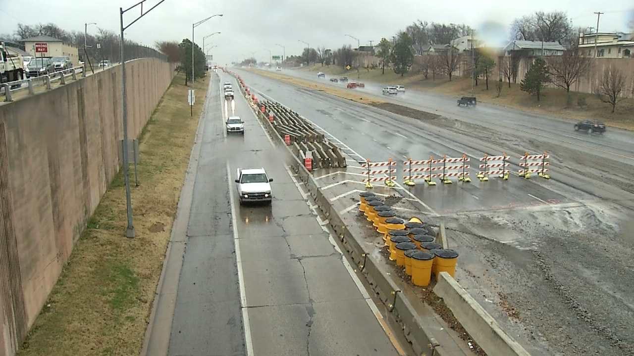 Tulsa Drivers Risking Wrecks In BA Expressway Construction