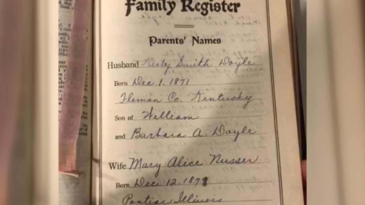 Bible Found In Washington State Belongs To Green Country Family