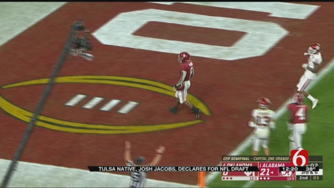 McClain High School Alum Declares For NFL Draft
