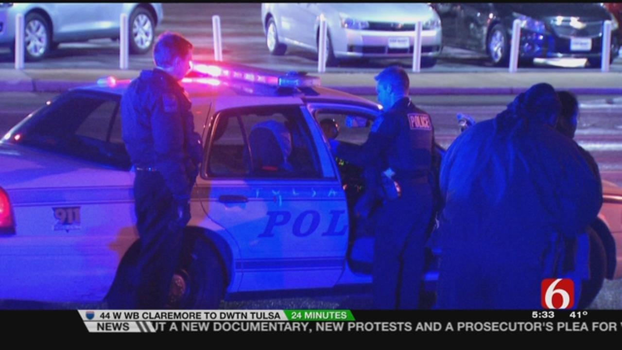4 Arrested During Tulsa Police Stolen Car Traffic Stop