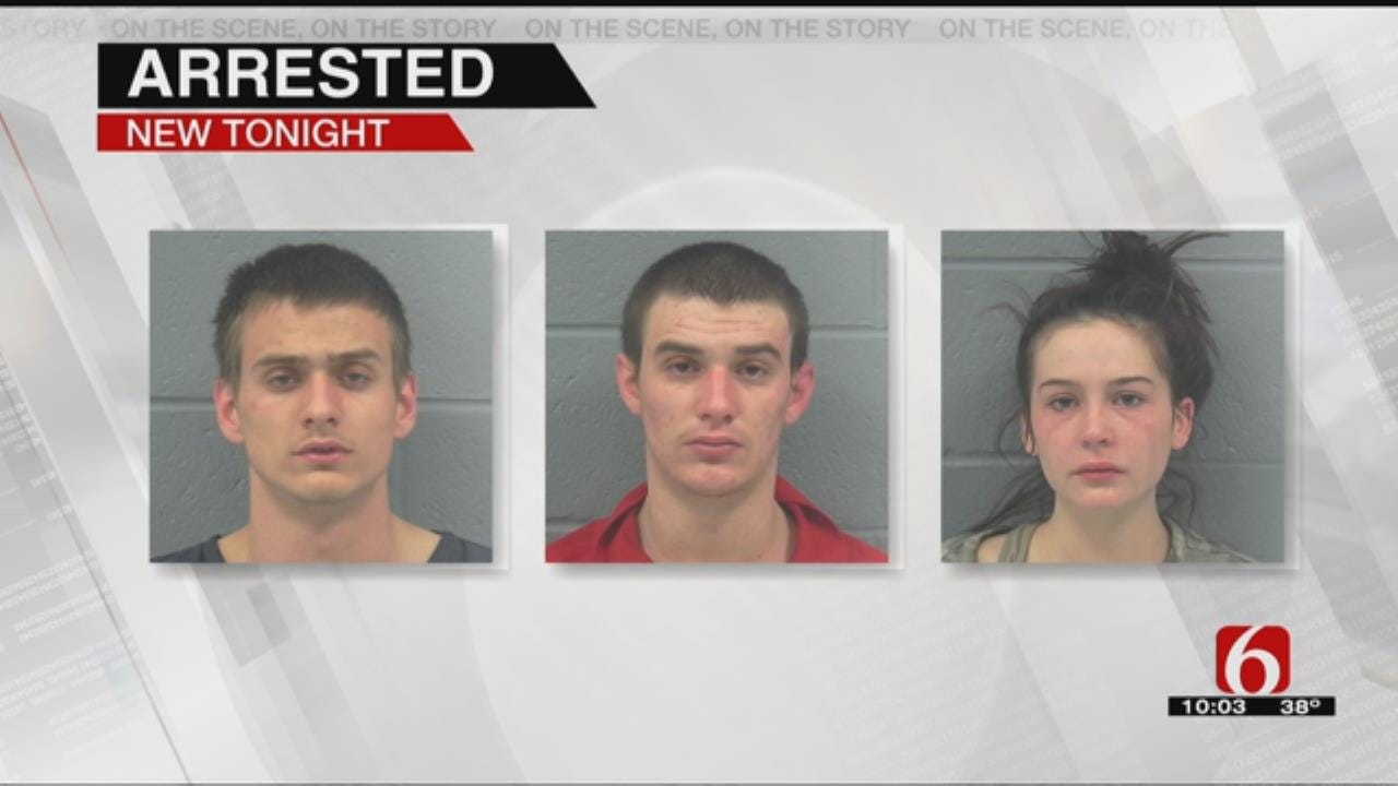 3 Claremore Residents Arrested For Impersonating A Police Officer