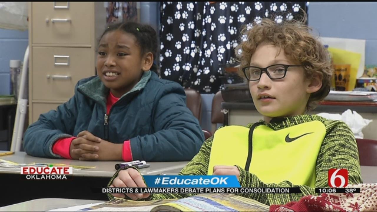 School Consolidation Debate Leaves Oklahomans Asking What's Best For Our Kids