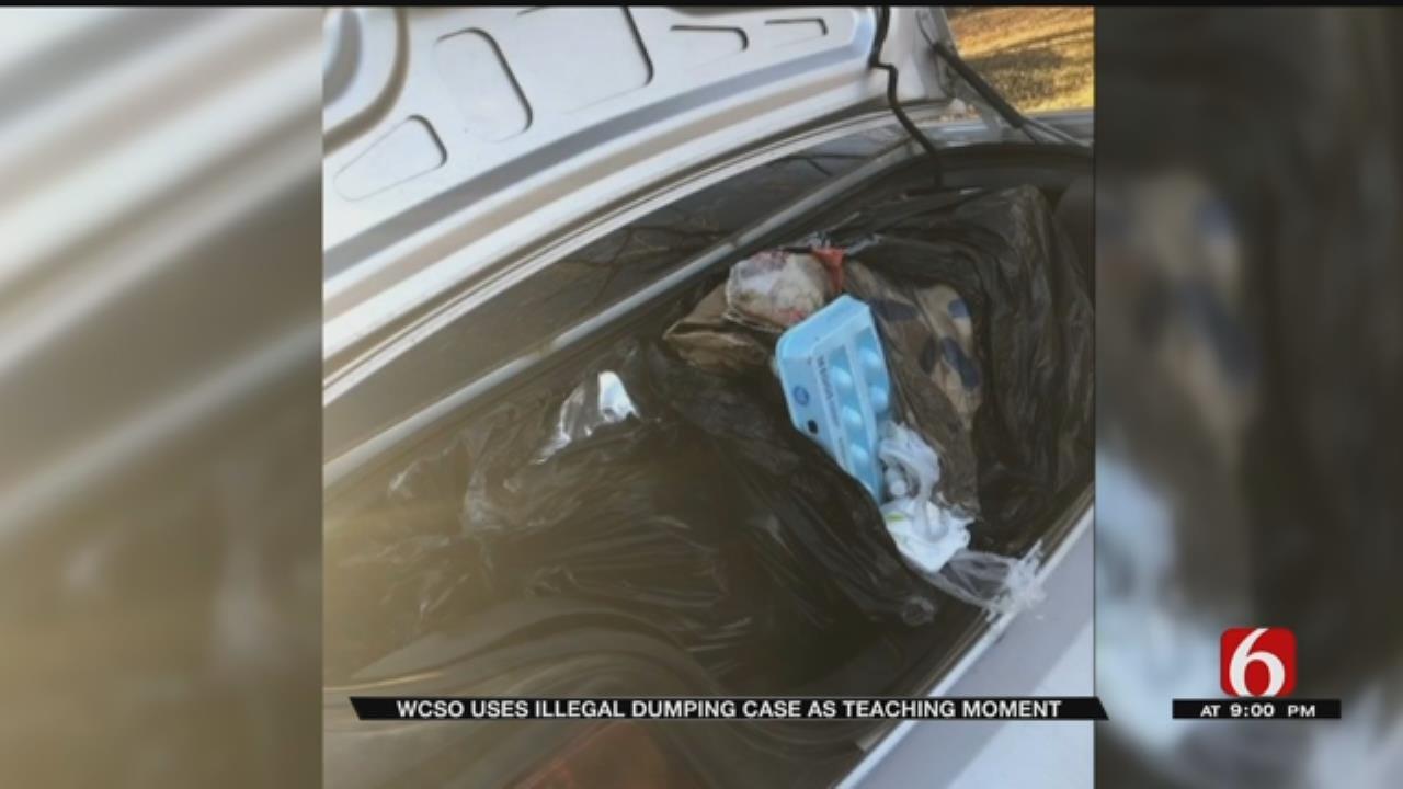 Trash Leads Wagoner County Deputy To Guilty Teen