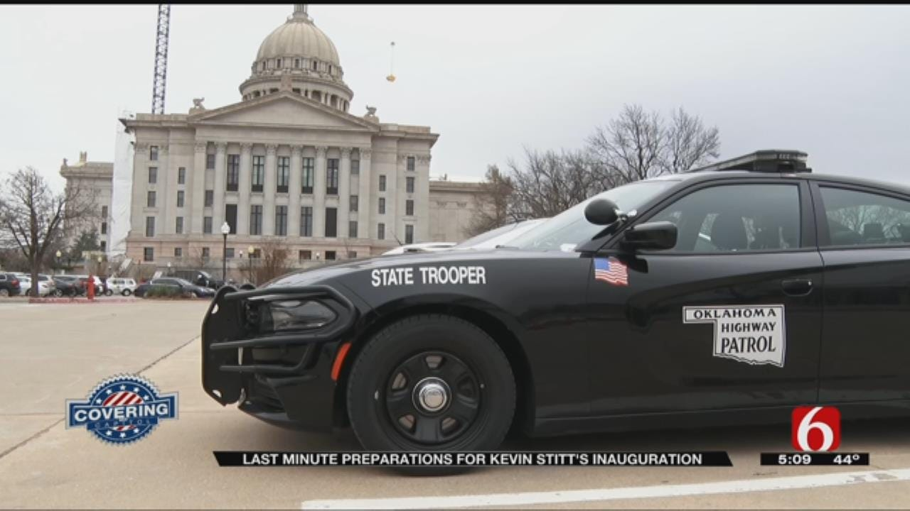 OHP Prepares For Monday's Inauguration Event