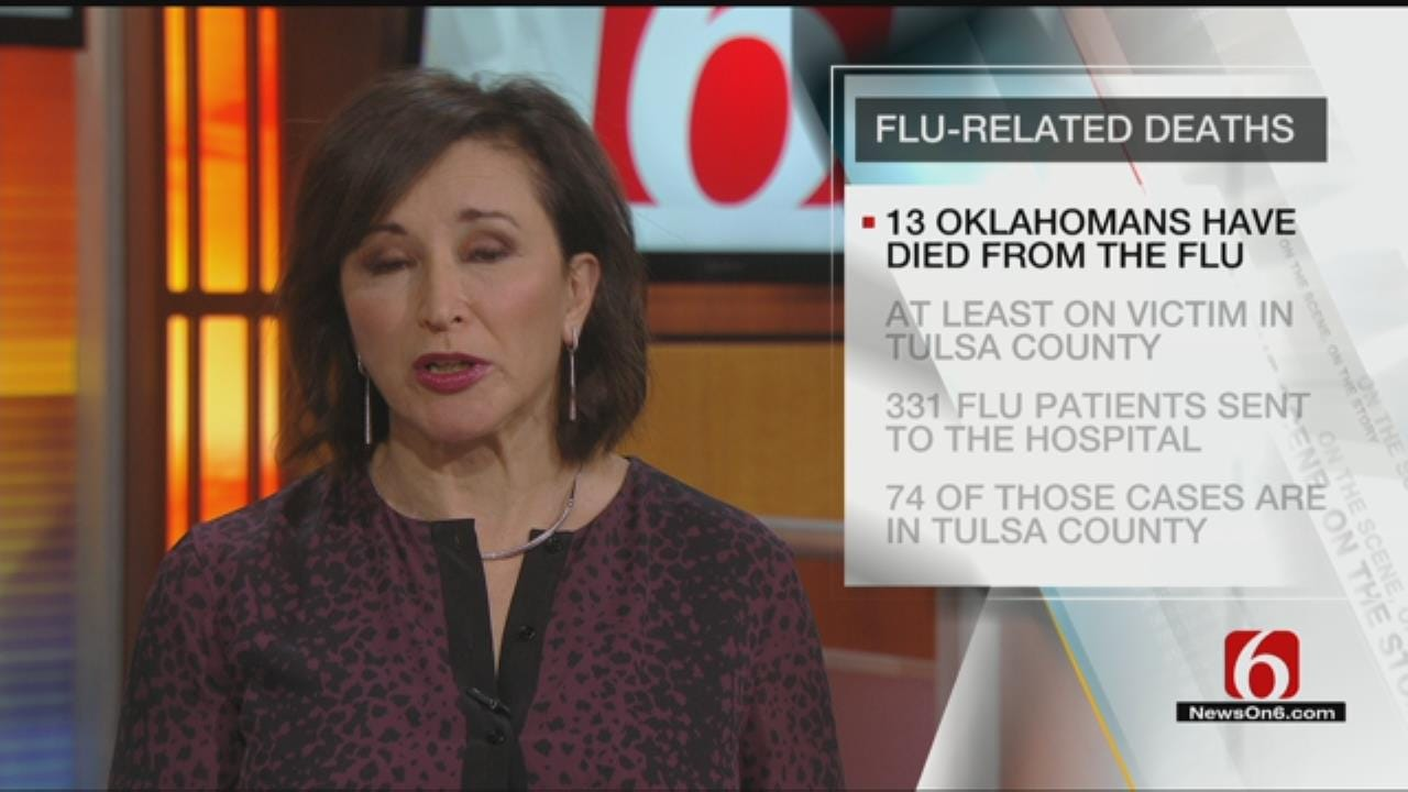 Oklahoma Flu Death Toll Climbs To 13