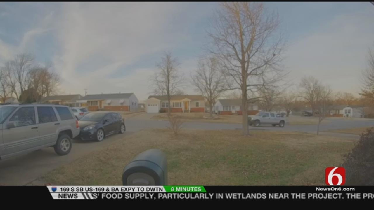 Driver Arrested After Hitting Tulsa Home, Ending Police Chase