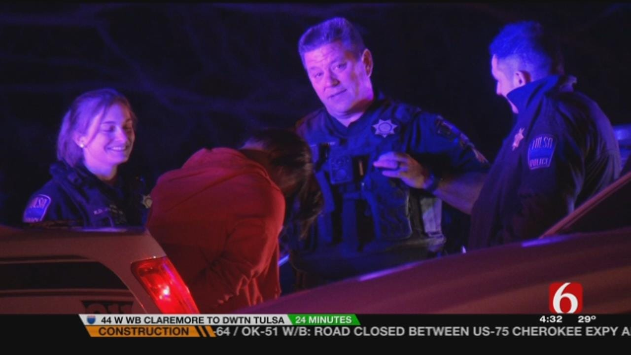 2 Tulsa Teen Arrested After Police Chase Early Thursday