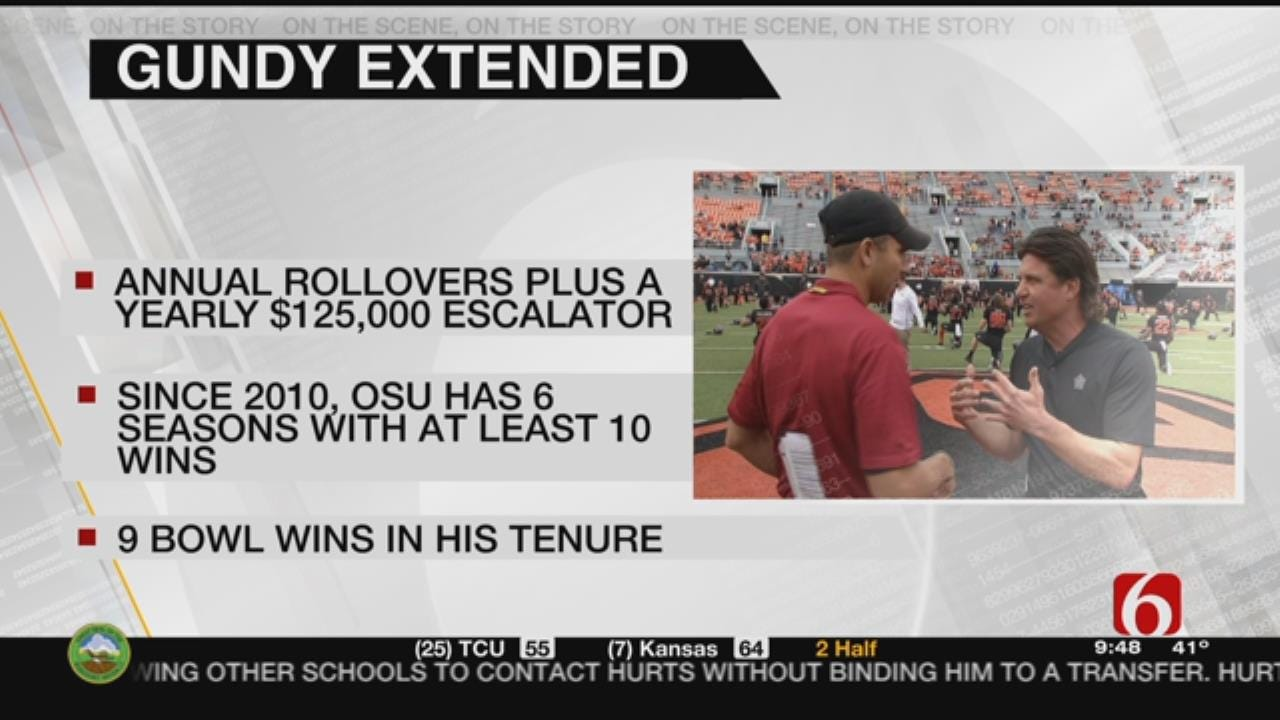 OSU Coach Mike Gundy's Contract Extended Through 2023