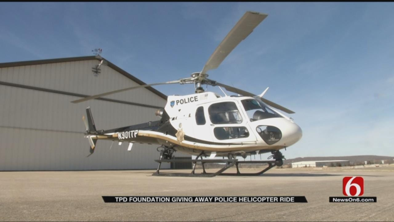 TPD Foundation Offering A Chance To Ride In Police Helicopter