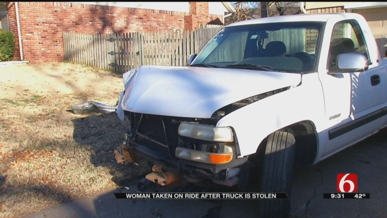 Broken Arrow Woman Thrown From Moving Truck As It Was Being Stolen