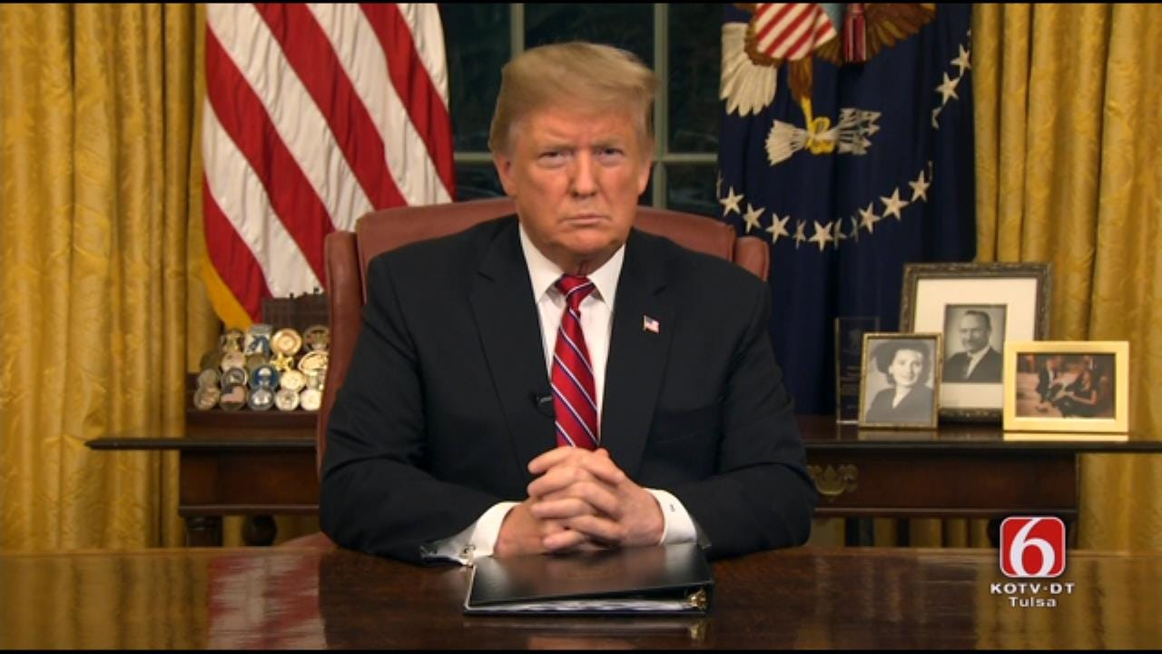 President Trump: A Physical Barrier At Border Is Just Common Sense