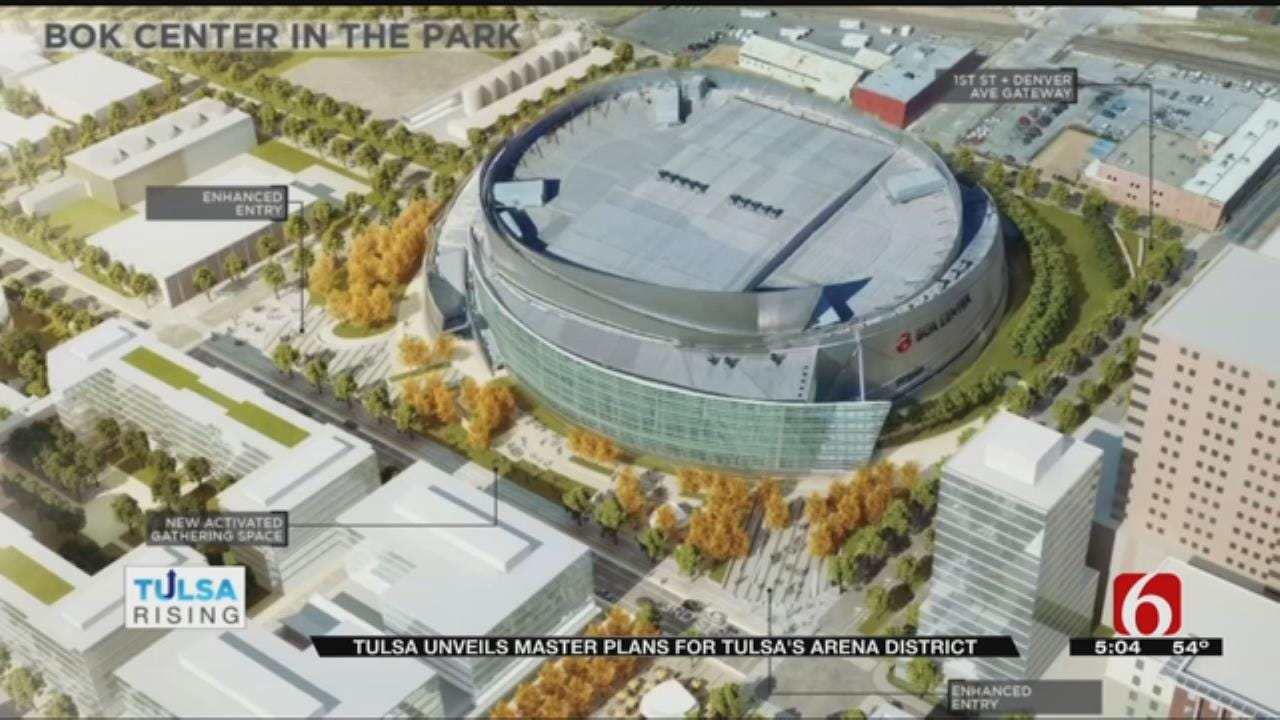 Plan Seeks To Spur Growth For Tulsa Arena District