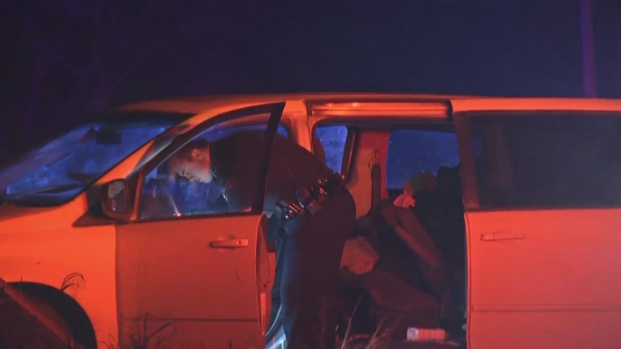 Video From Scene Of Catoosa Van Crash