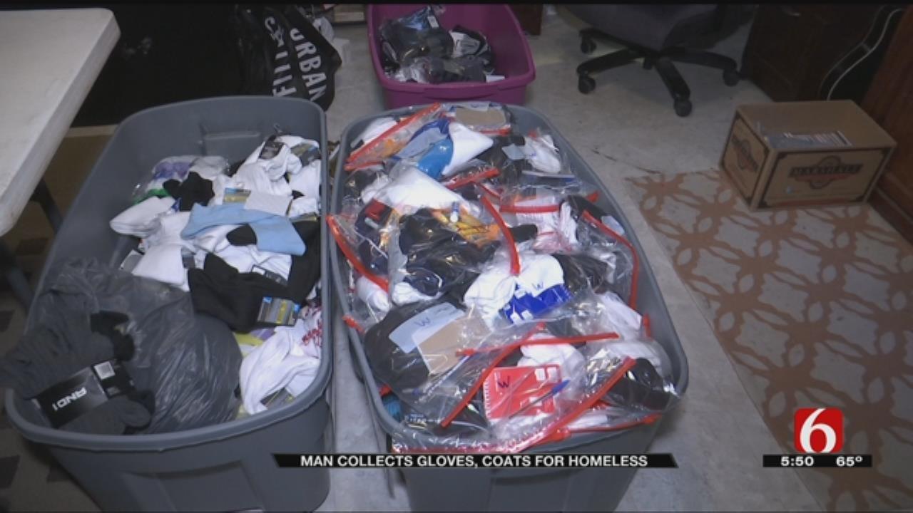 Tulsa Man Helps Keep Homeless Warm With 'Glocks'